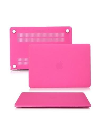 "Mcstorey MacBook Pro A1278 13.3"" Kılıf Kapak Koruyucu Ruberized Hard Incase Mat Pembe"
